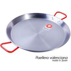 Сковорода паэльера из шлифованной стали 40 см для таджикского тандыра