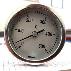 Термометр врезной СEWAL (500°C, 10 см) для таджикского тандыра