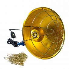 Защитный плафон (абажур) для инфракрасной лампы (аналог InterHeat) бол.