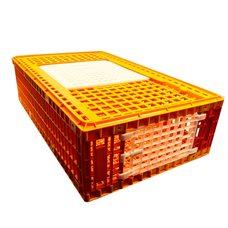 Ящик для перевозки птицы с верхней и боковой дверцей 96х55х27