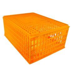 Маленький ящик для перевозки птицы с раздвижными верхней дверцей 75x55x33