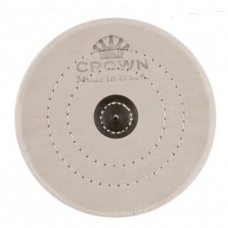 Круг муслиновый CROWN белый d-150 мм, 50 слоев