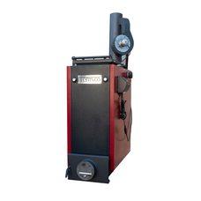 Шахтный котел длительного горения Termico (Термико) КДГ 12 кВт (с дымососом)