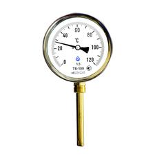 Термометр биметаллический ТБ 63мм осевой радиальный