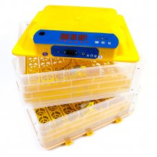 Инкубатор Говорун-112 12 В (2х ярусный для любых типов яиц с овоскопом)