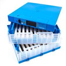Инкубатор Говорун-128 программируемый (2х ярусный, роликовый поворот, с овоскопом)