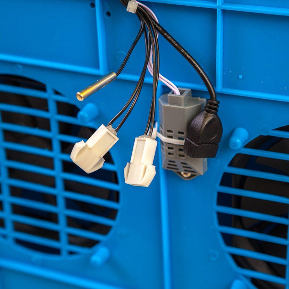 Говорун-128 инкубатор программируемый 2х ярусный, роликовый поворот, с овоскопом