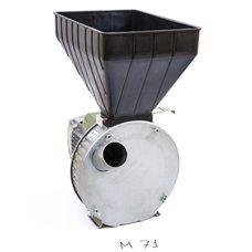 Газда М71 зернодробилка 1,7 кВт молотковая для зерна и початков кукурузы
