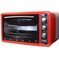 Asel AF 0123 настольная электродуховка 40л красного цвета