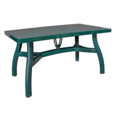 Стол прямоугольный Irak Plastik King 80x140 зеленый