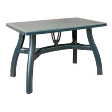 Стол прямоугольный Irak Plastik King 70x115 зеленый