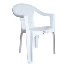 Кресло Irak Plastik Bahar EKO белое