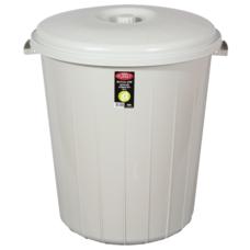 Бак для мусора Planet №3 50 л (без защелок) серый