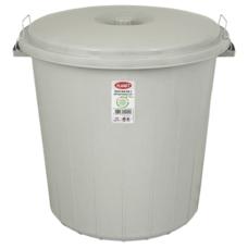 Бак для мусора Planet №2 35 л серый
