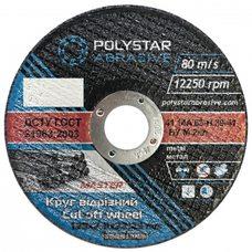 Круг отрезной по металлу Polystar Abrasive 125 2,0 22,23