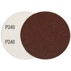 Круг шлифовальный на липучке Velcro Polystar Abrasive 125 мм, P240