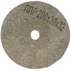 Круг полировальный войлочный Polystar Abrasive ППР 200х30х32