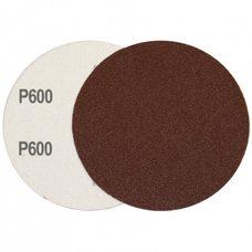 Круг шлифовальный на липучке Velcro Polystar Abrasive 125 мм, P600