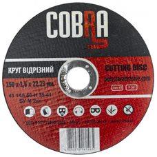 Круг отрезной по металлу COBRA 150 1,6 22,23