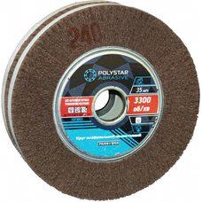 Скотч-Брайт круг шлифовальный лепестковый КШЛ 200х50х32 мм, P240