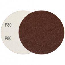 Круг шлифовальный на липучке Velcro Polystar Abrasive 125 мм, P80