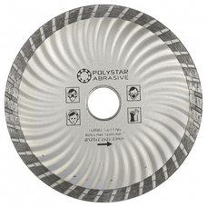 Круг алмазный отрезной TURBO Polystar Abrasive d-125 мм