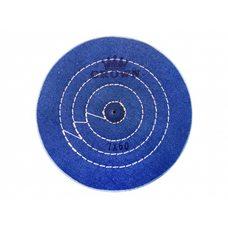 Круг муслиновый CROWN синий d-175 мм, 60 слоев
