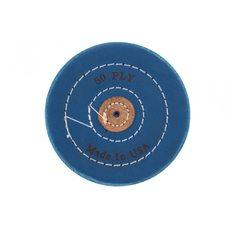 Круг муслиновый CROWN синий d-120 мм, 50 слоев