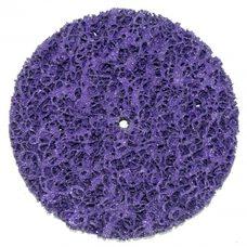Круг отрезной без основы фиолетовый (коралл) жесткий Polystar Abrasive d-125 мм