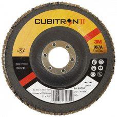 Лепестковые круги 3M 967А конусный Р60, 125мм