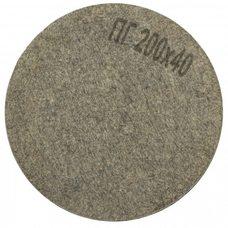Круг полировальный войлочный Polystar Abrasive ПГ 200х40