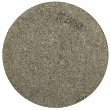 Круг полировальный войлочный Polystar Abrasive ПГ 250х40