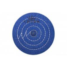 Круг муслиновый CROWN синий d-100 мм, 50 слоев