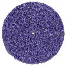Круг отрезной без основы фиолетовый (коралл) жесткий Polystar Abrasive d-150 мм