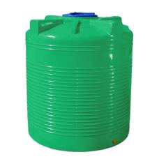 Емкость 200 л вертикальная двухслойная зеленая