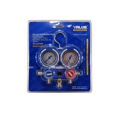 Коллектор заправочный Value 2-вентильный VMG -2 R22 на упаковке