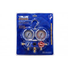 Коллектор заправочный Value 2-вентильный VMG -2 R410-B-02 на блистере