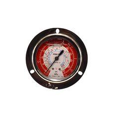 Манометр высокого давления HongSen HS-1533H осевой с глицерином