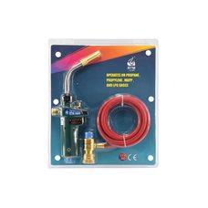 Сварочная горелка для пайки МАПП-газом RTM 3660 (со шлангом и пьезоподжигом)