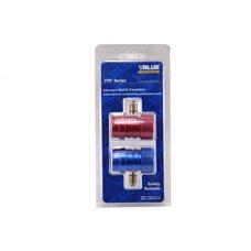 Муфта заправочная для кондиционера автомобильного Value VHF-SA с фиксатором