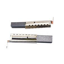 Щетки графитовые стиральной машины 5х12,5х34 в металлическом корпусе (однослойные)