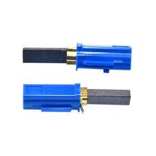 Щетка графитовые в корпусе для двигателя пылесоса 6,2х11х34