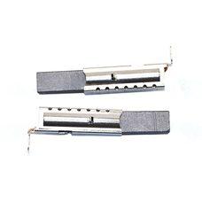 Щетки графитовые стиральной машины 5х12,5х32 в металлическом корпусе (однослойные)