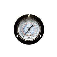 Манометр высокого давления HongSen HS-1537H осевой с глицерином
