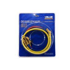 Шланг заправочный с краном Value VRP-С-RYB 1,2м комплект