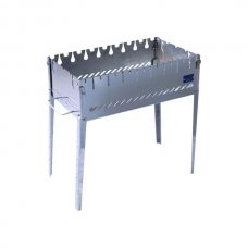 Раскладной мангал чемодан на 8 шампуров из нержавеющей стали