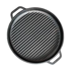 Крышка-сковорода чугунная гриль 400 мм