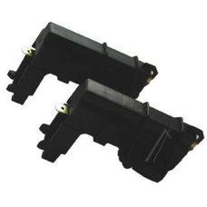 Щетки электродвигателя стиральной машинки 5 * 12,5 * 36 в корпусе черные Г обрзние (комплект 2 шт.) (C00194594)
