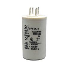 Пусковой конденсатор для стиральной машины 20 мкФ