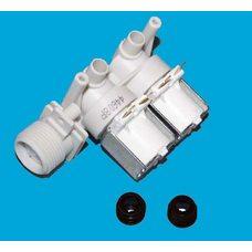 Клапан подачи воды универсальный для стиральных машин под клеммы 2/180/90